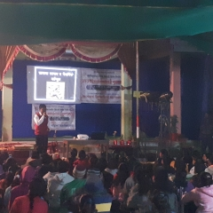 Awareness Program  organized  by  NSS  for  Villagers at  Jugnala